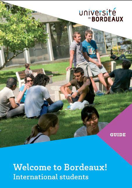 Welcome to Bordeaux ! le guide de l'Université de Bordeaux
