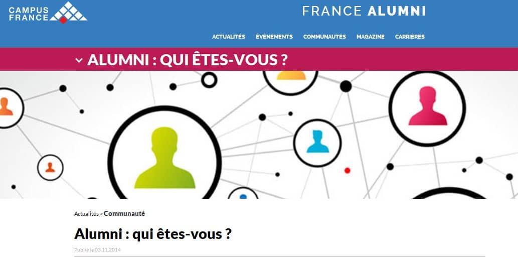 Lancement de francealumni.fr, le nouveau réseau social français destiné aux anciens étudiants étrangers