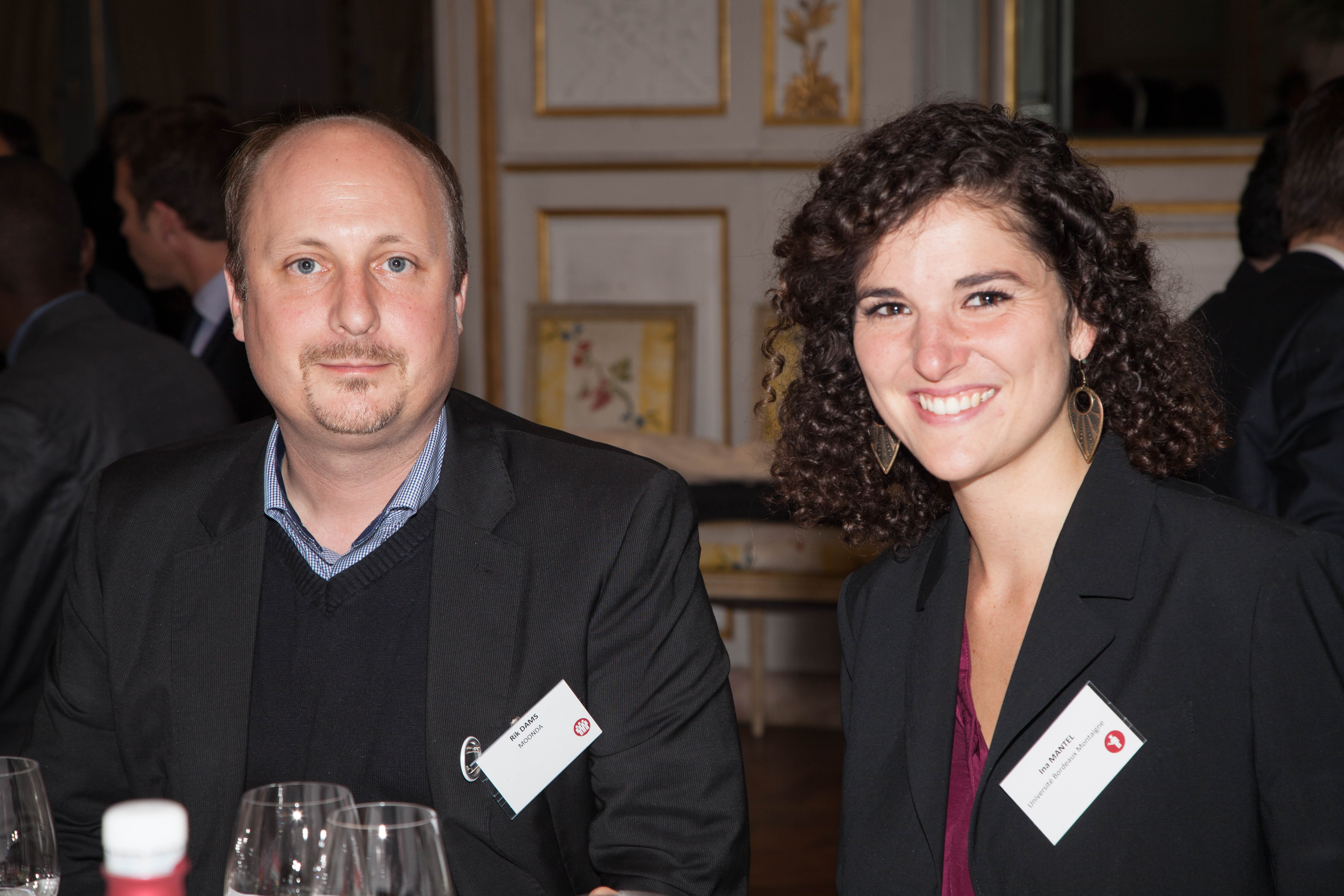 Ina Mantel, étudiante allemande à l'Université Bordeaux Montaigne, parle de Bordeaux Alumni