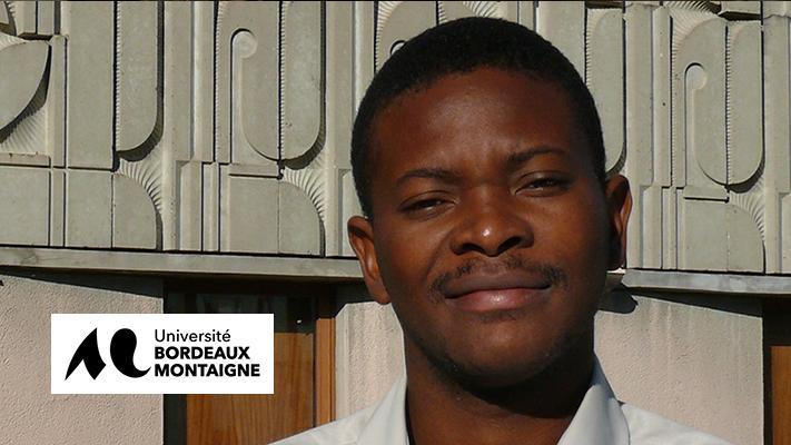 Messan Todo-Alipui, étudiant à l'Université Bordeaux Montaigne, nous raconte …