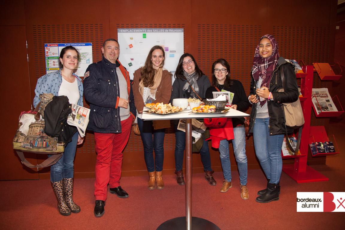 Le Journal Sud-Ouest reçoit Bordeaux Alumni