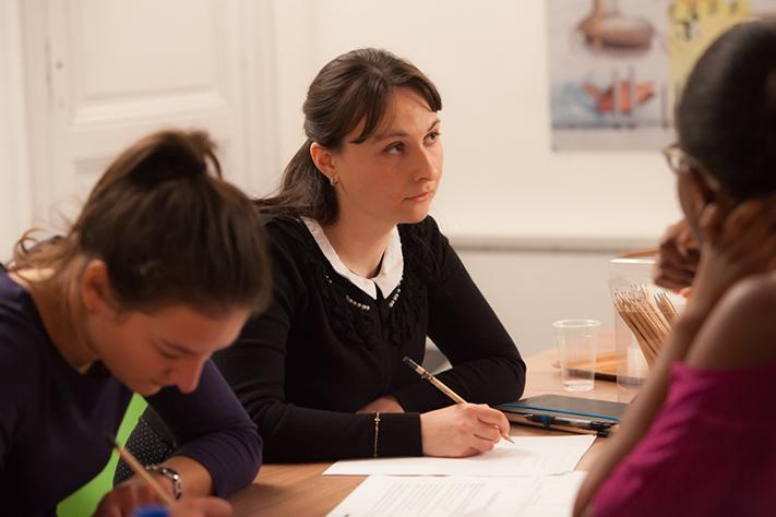 Lika Tchipashvili, étudiante à l'Université Bordeaux Montaigne