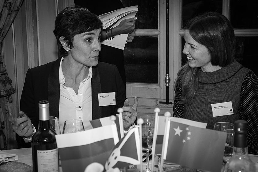 Béatrice Sabouret, directrice de l'agence de communication et d'information du groupe La Poste à Bordeaux